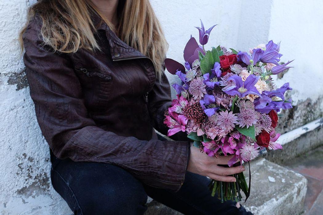 Ramo otoñal flowercap