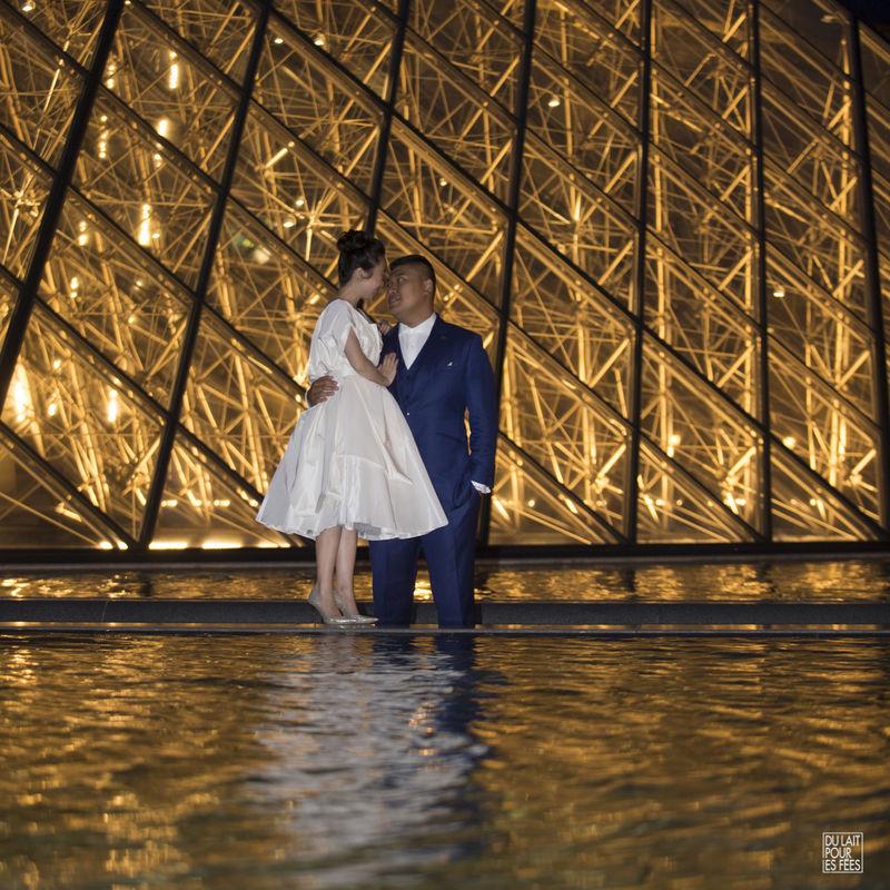 Mariage chinois à Paris
