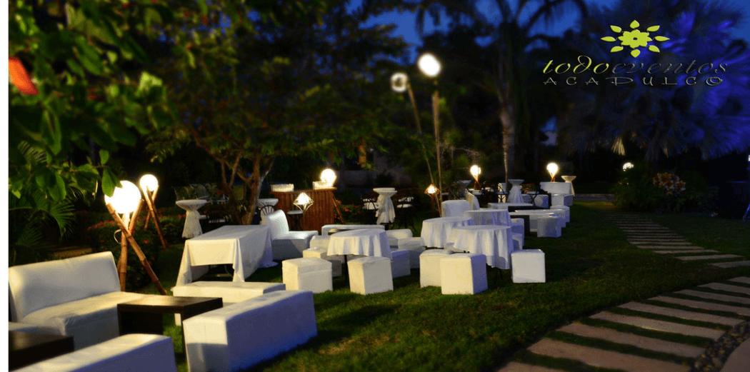 Salas Lounge, ideal para los jóvenes de tu evento.