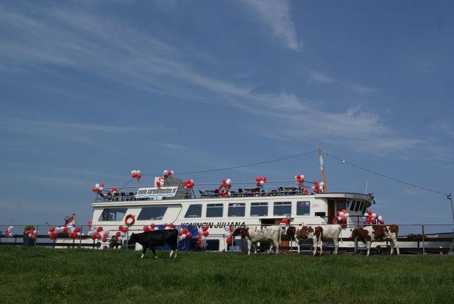 Partyboot Koningin Juliana