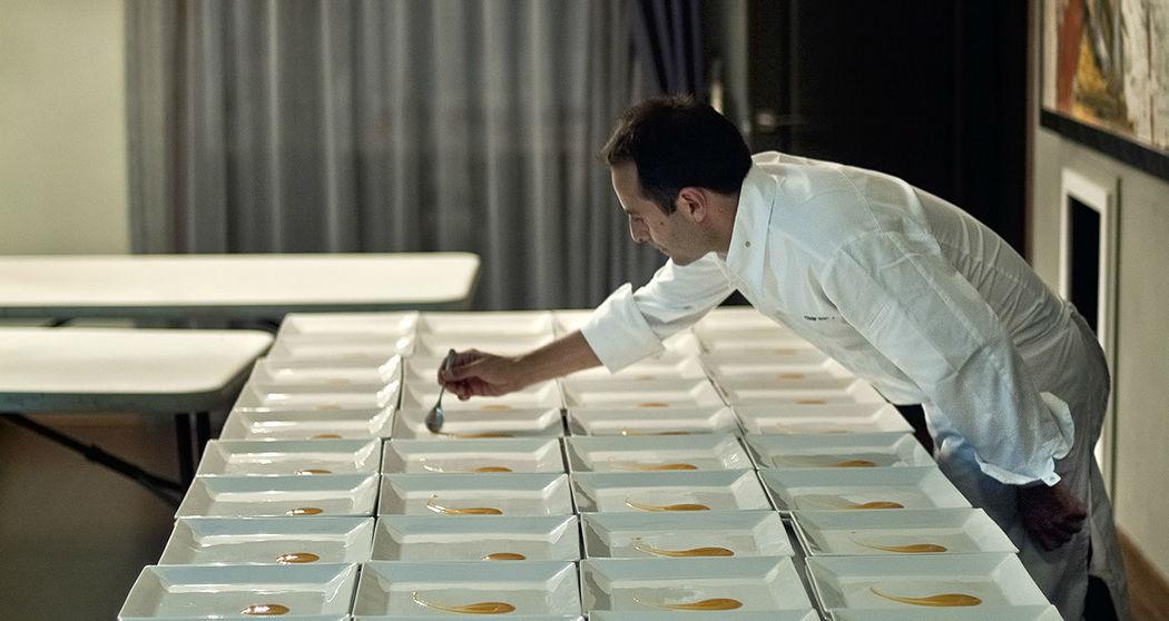 Nuestro chef Òscar Calleja