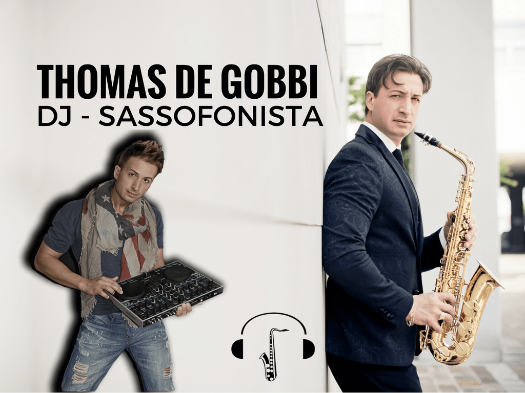 dj matrimonio sassofonista sax
