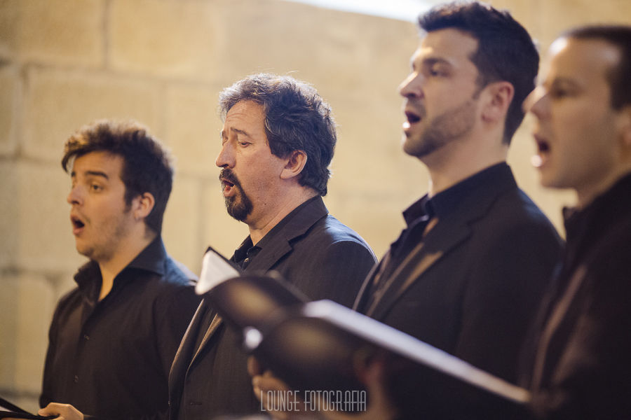 Male voices of Coro Génesis