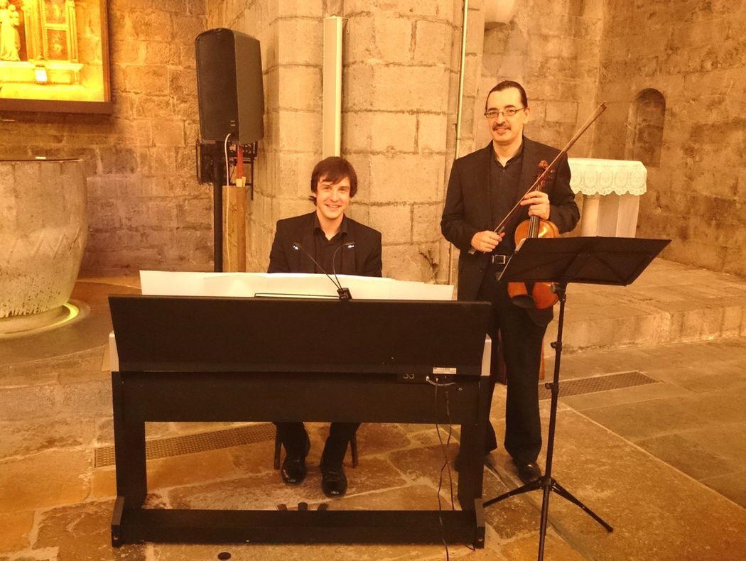 Dúo violin y piano