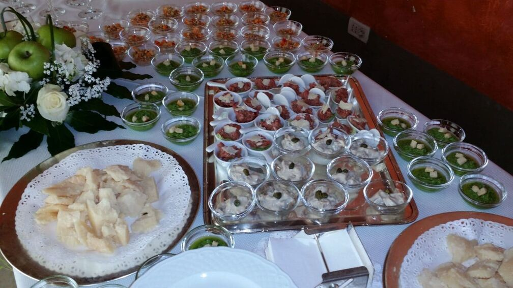 Con Gusto Catering Experience