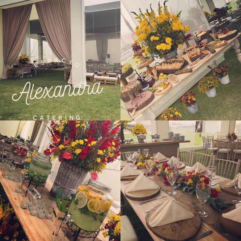 Catering Espacio Alexandra