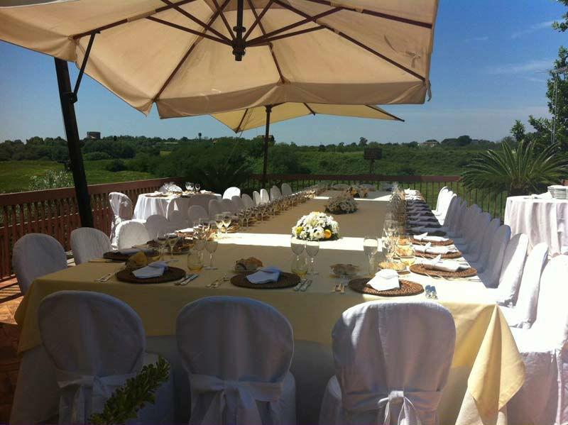 Beispiel: Hochzeitscatering, Foto: Mario's Catering.