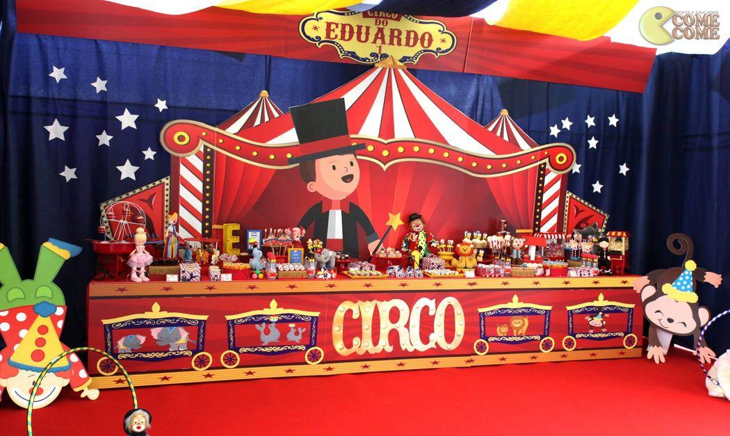 Come Come Festas - Tema Circo