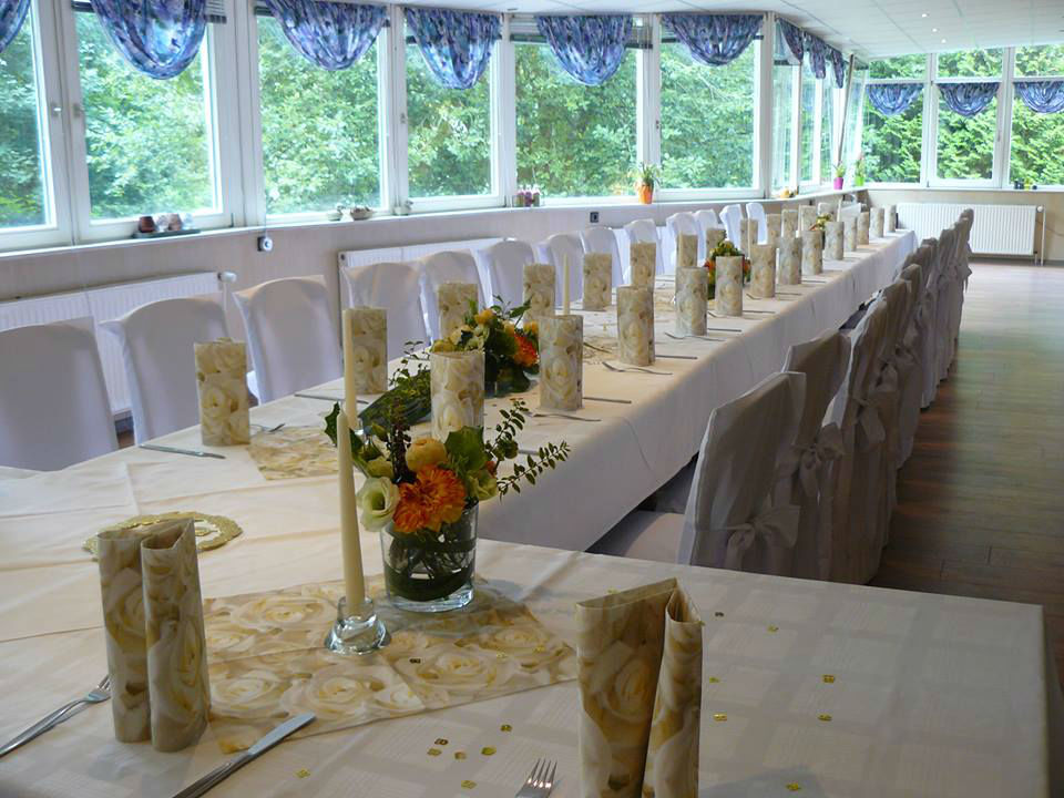 Beispiel: Tischdekoration, Foto: Panoramic.