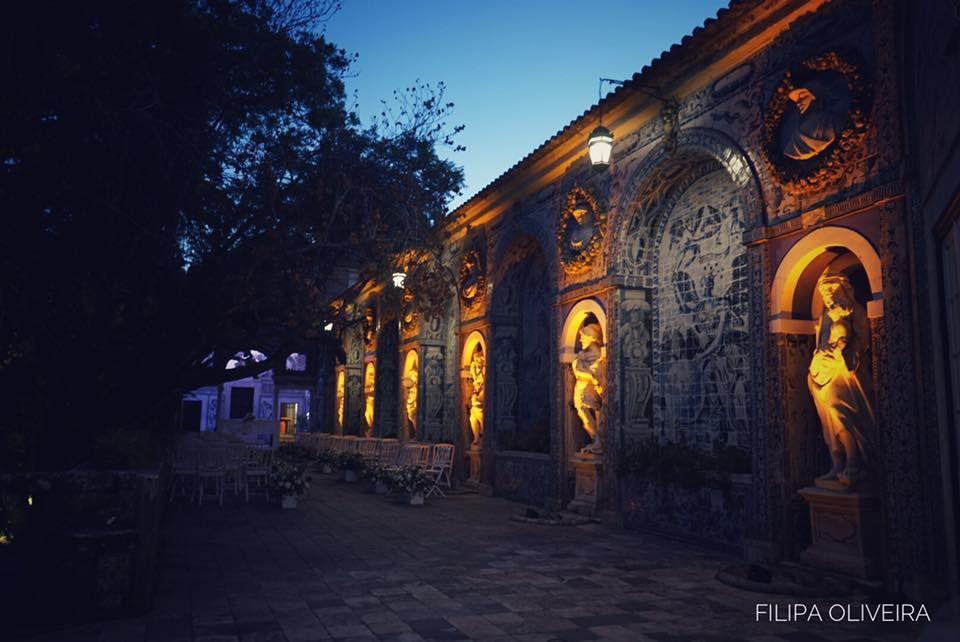 Decoração de Luzes Palácio Marques da Fronteira
