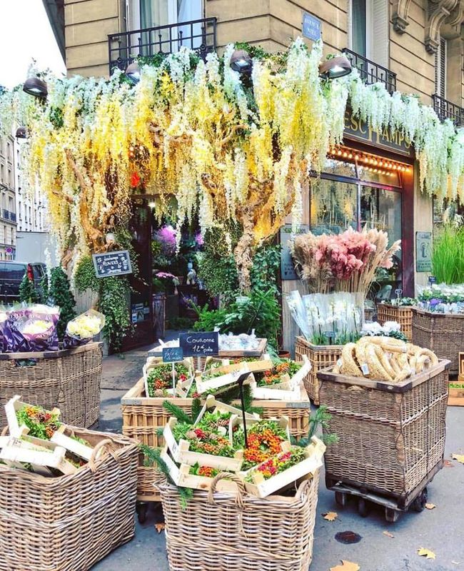 Deschamps Fleurs Paris