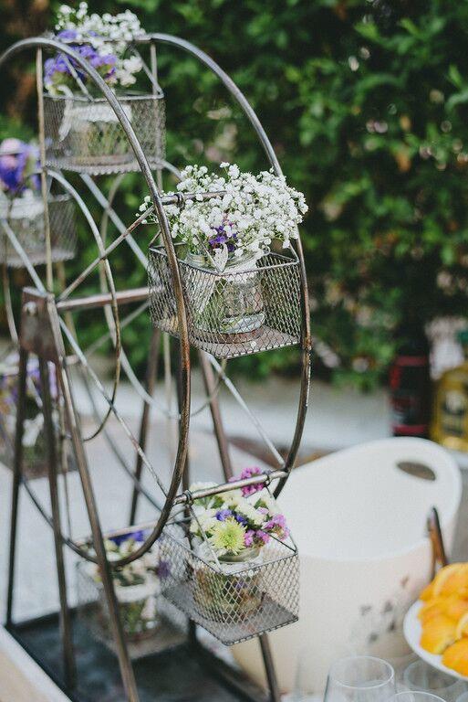 Flores frescas y rincones originales