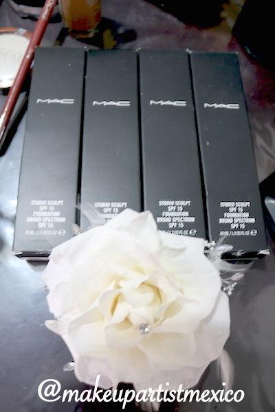 Usamos MAC mejores cosméticos  para nuestras novias. Makeup Artist Mexico