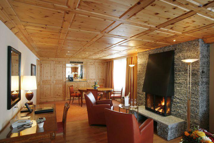 Beispiel: Gemütliche Zimmer, Foto: Grand Hotel Zermatterhof.