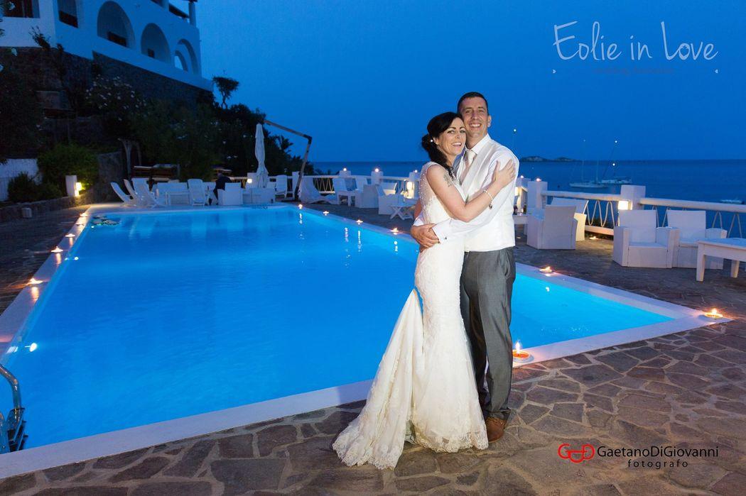 Wedding in Panarea - Hotel La Piazza