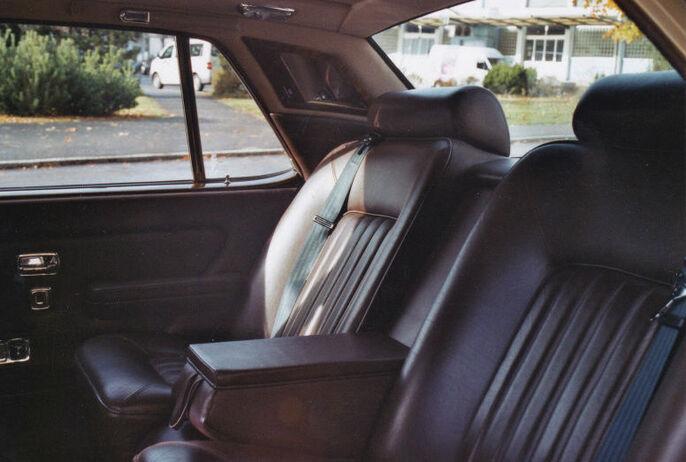 Beispiel: Innenansicht, Foto: Roger's Limousinenservice.