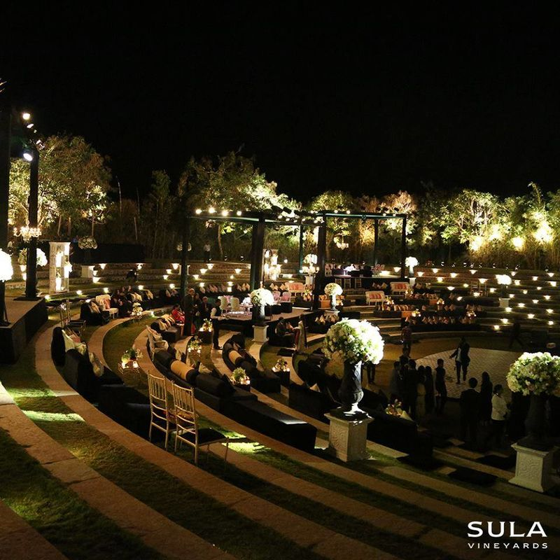 Amphitheater at Sula Vineyards
