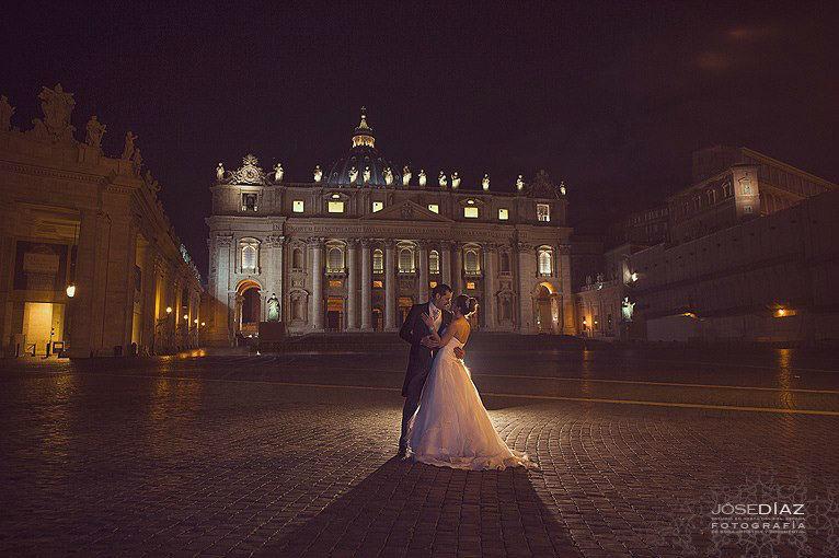 Fotografía de Jôse Díaz, fotografía Roma posboda