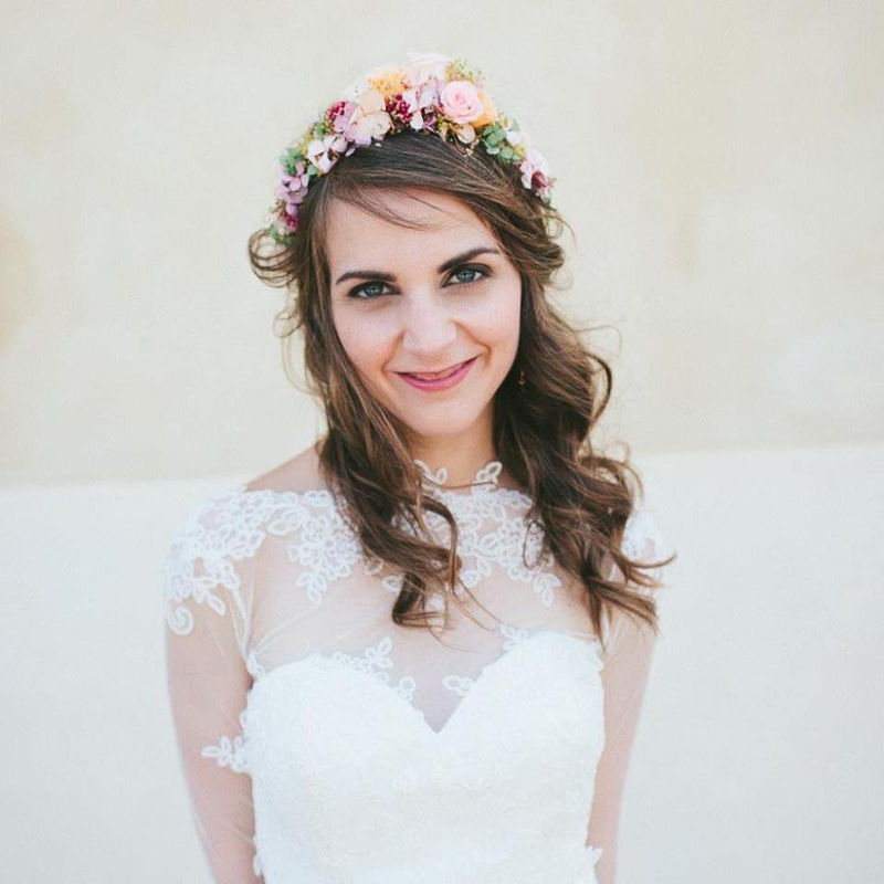 Maquillaje: Carolina Miret Makeup Artist  Fotografía: Un día de Contraste Perfecto