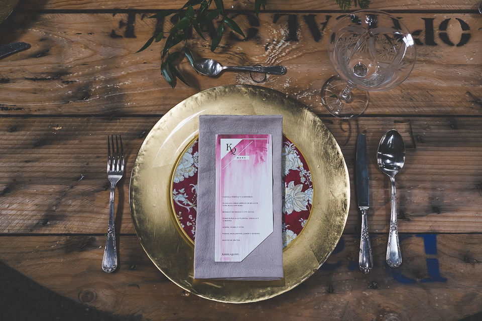 Menú de boda - Colección