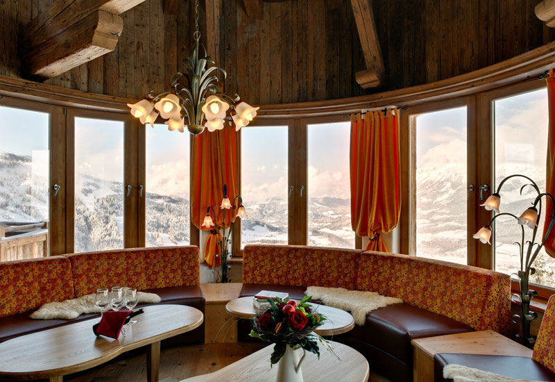 Beispiel: Restaurant, Foto: Brenneralm.