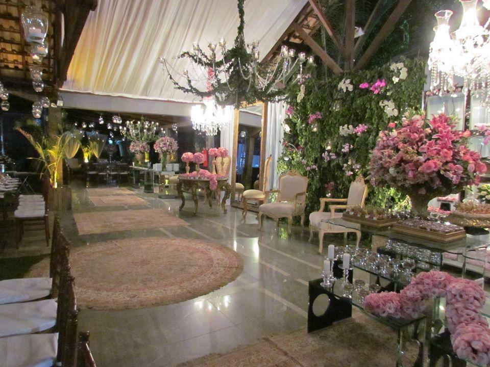 Garden Green Buffet e decoração