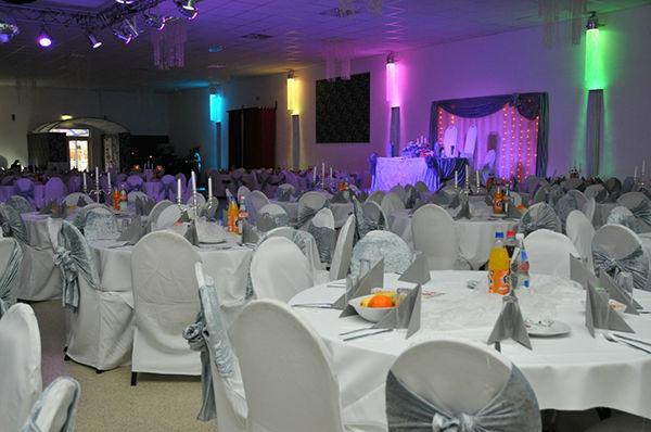 Beispiel: Bankett - Saal 2, Foto: Elite Event Center.