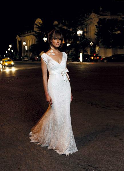 Beispiel: Brautmode zum Wohlfühlen, Foto: Meister Couture.