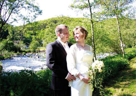 Beispiel: Brautpaar, Foto: Hotel zur Post.