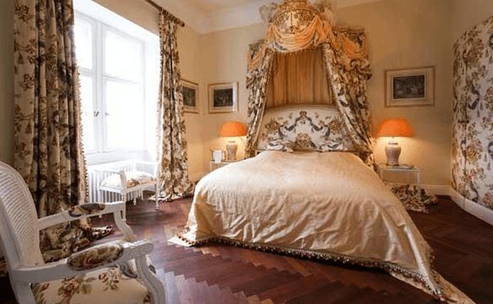 Beispiel: Suite, Foto: Schloss Weitenburg.