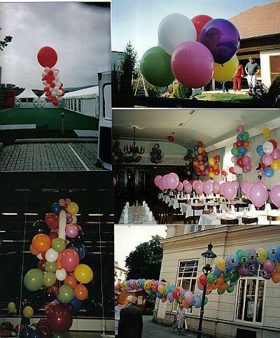 Beispiel: Die Dekoration für Ihren großen Tag, Foto: Krickl Ballons.