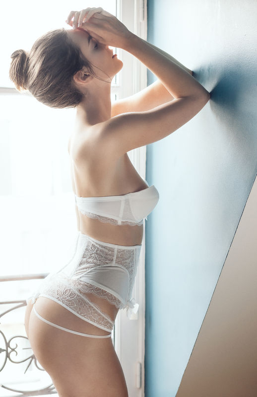 Atelier Modesti Lingerie Mariage - Oh Mariage Bandeau, string, serre taille