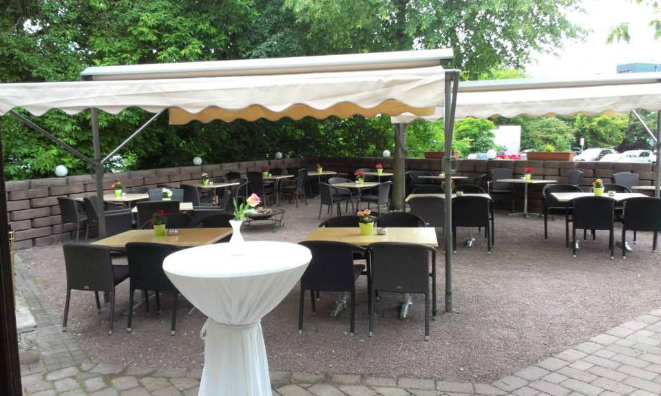 Beispiel: Terrasse, Foto: Avecio Café.
