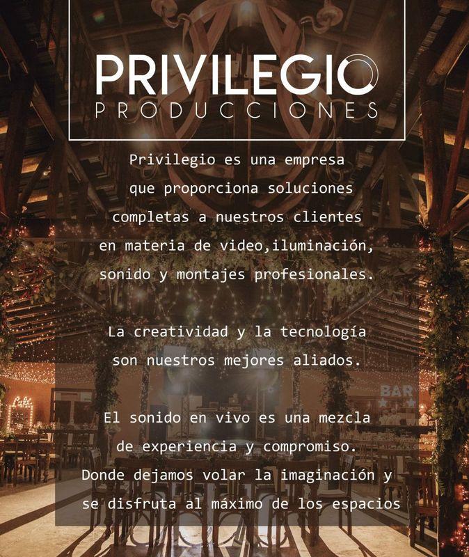 Privilegio Producciones