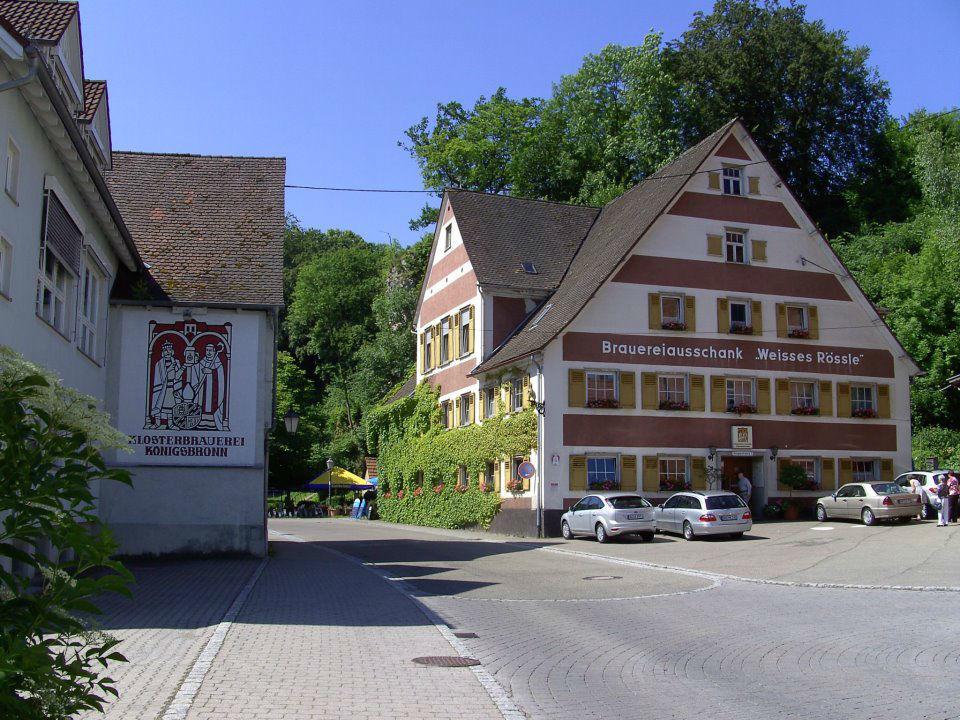 Beispiel: Außenansicht, Foto: Gasthof Weisses Rössle.