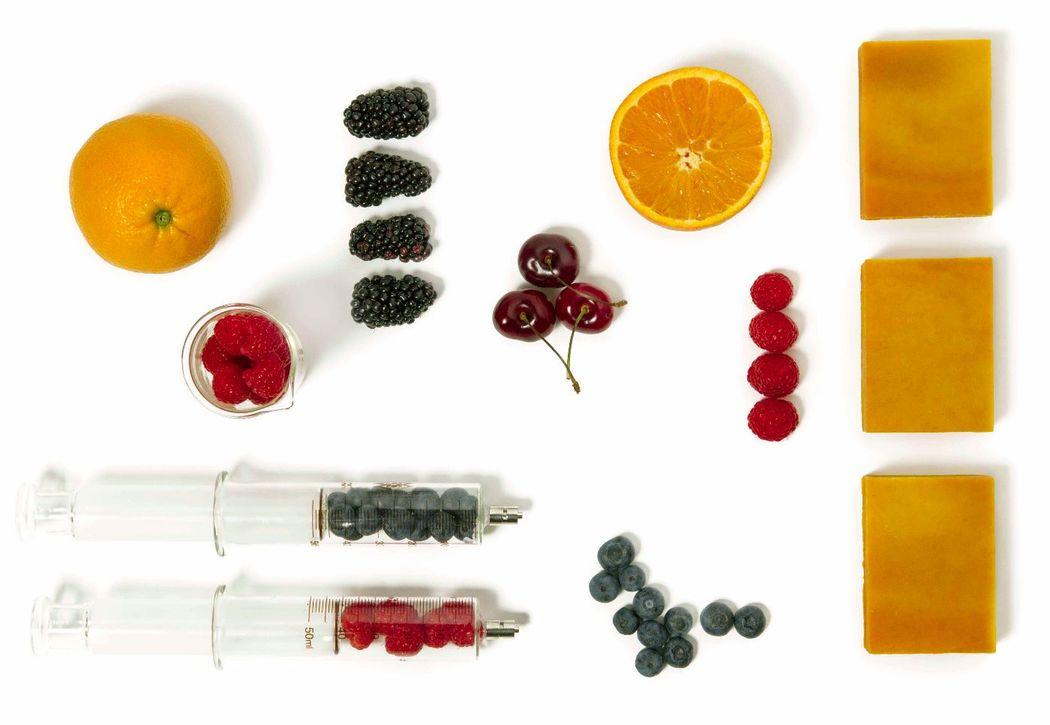 Antiox Soap - naranja & frutos rojos