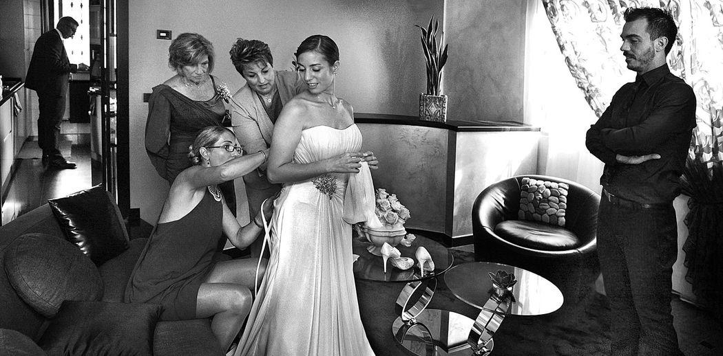 Preparativi sposa a Buccinasco