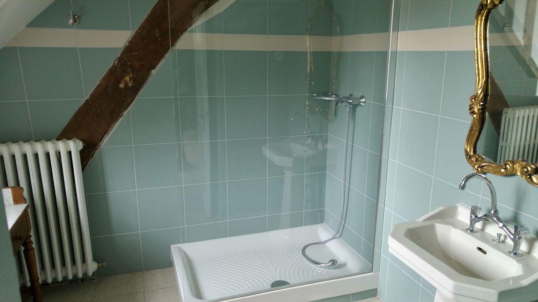chateau salle de bain