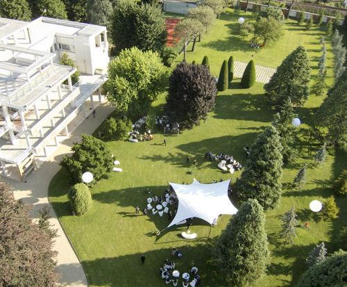 Villa Giacomelli - Vista panoramica del parco