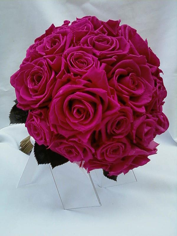 Flor de Cór -buquê de flores naturais preservadas