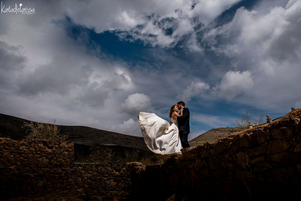 Trash the dress Real de 14, SLP