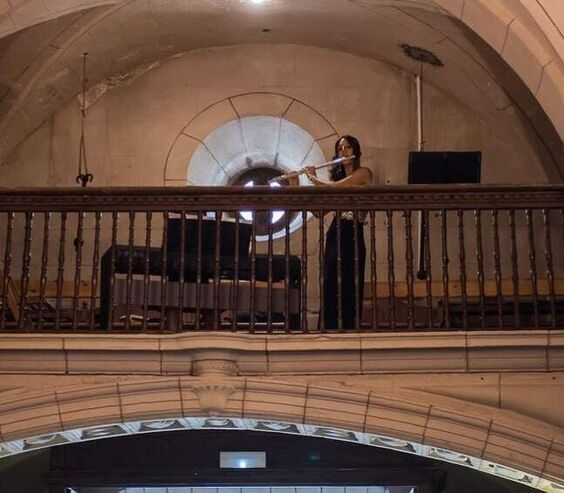 Duo Oblivion. Flauta travesera y piano