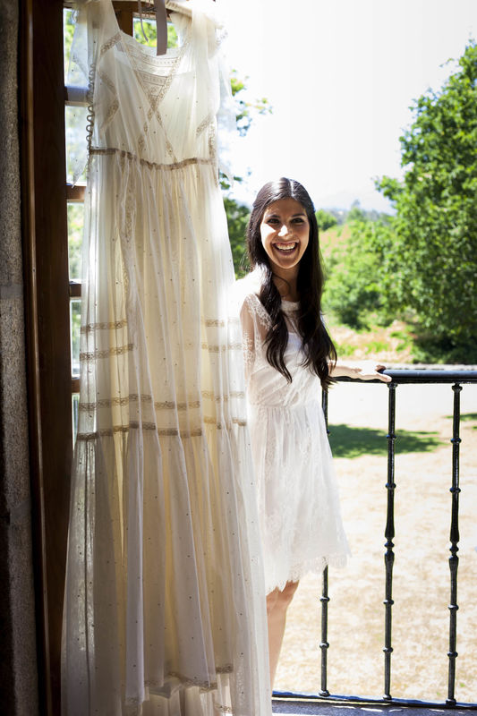 Vestido novia Pilar Bande Atelier. Fotografía: Per Rueda