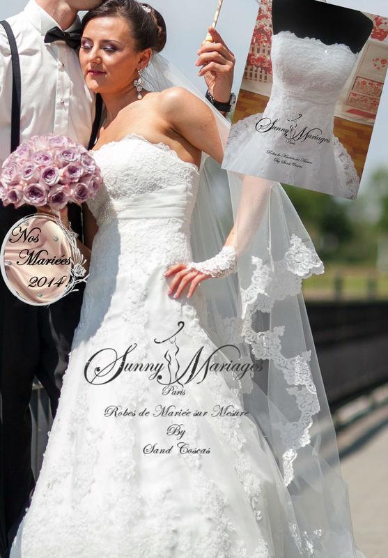 robes de mariee sirene en dentelle sur mesure www.sunnymariages.com