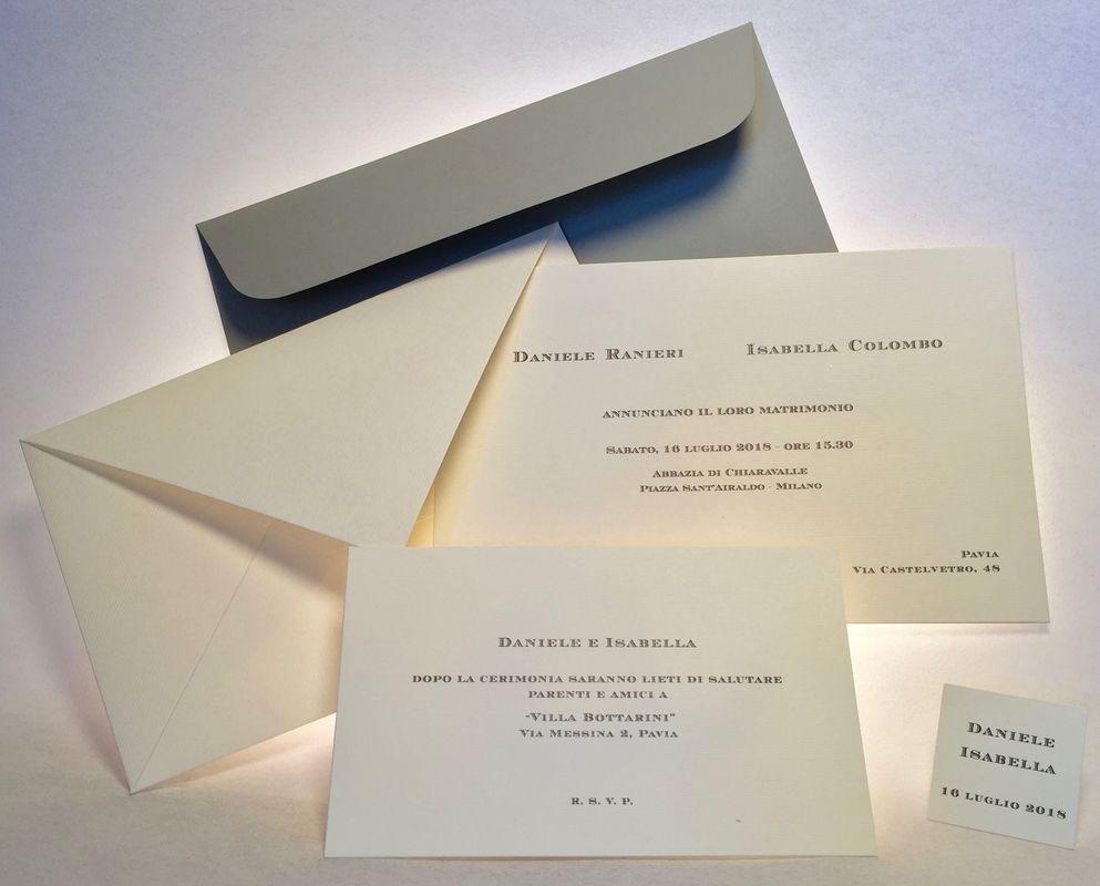 partecipazione Imperiale classica da galateo, 600 grammi di unicità
