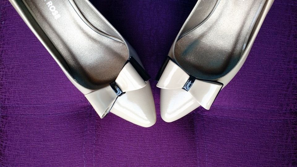 Modelo Alanis con lazo, taco 5cm by Giorgina Rose Zapatos