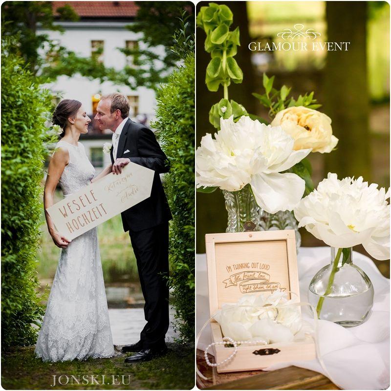 Romantyczny ślub w stylu vintage z elementami stylu pałacowego. fot. Stanisław Joński