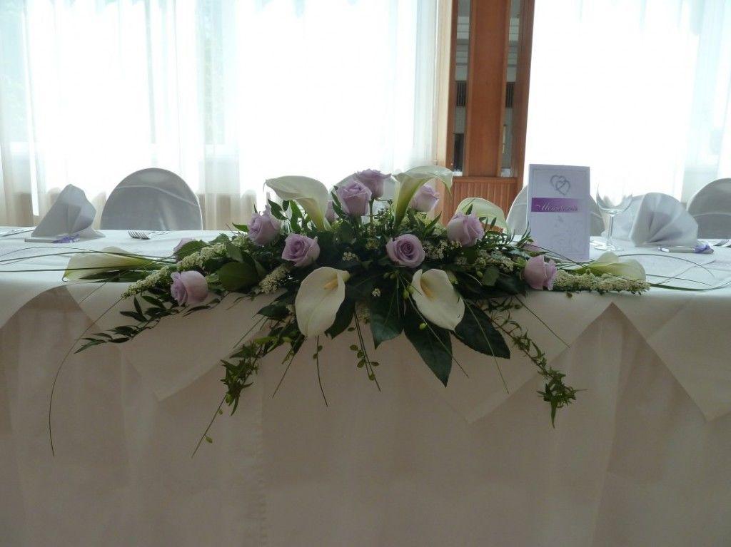 Beispiel: Tischgesteck, Foto: Toifl Blumen.
