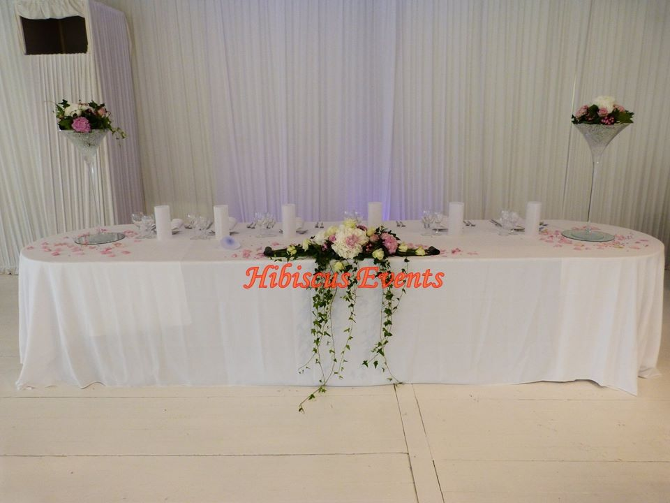 Hibiscus events mariage for Chambre de parade
