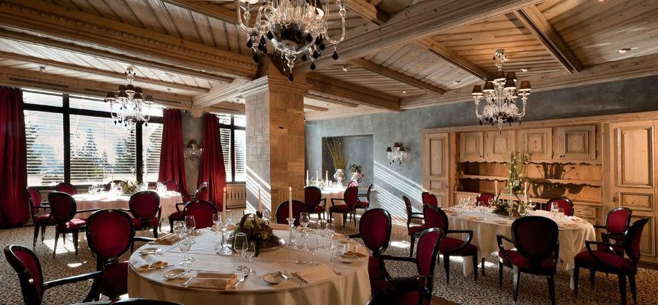 Beispiel: Hochzeits-Bankett, Foto: Gstaad Palace.